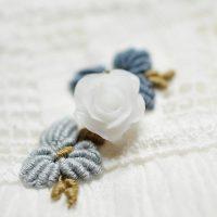 Pendentif Lait Maternel Fleur