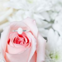 Bague Lait Maternel Ovale Breast Milk Ring