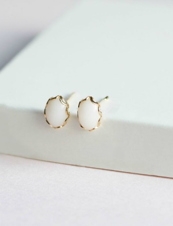 Boucles d'oreille Lait maternel Breast Milk Earrings