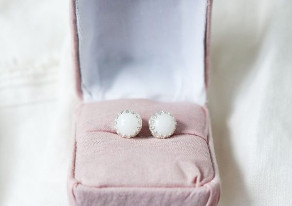 BreastMilk Earrings Crown Boucles D'oreille Couronne Lait Maternel