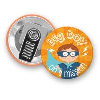 Safe clip badge