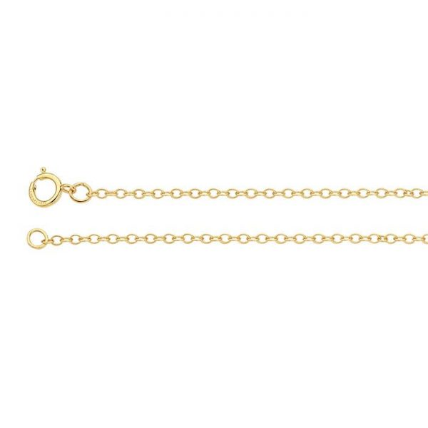 , 14/20 Yellow Gold-Filled Oval Chain, LaJoieenRose