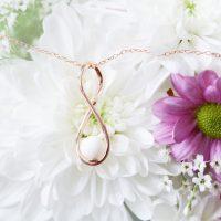 Bijoux Lait Maternel Infini Or Rose