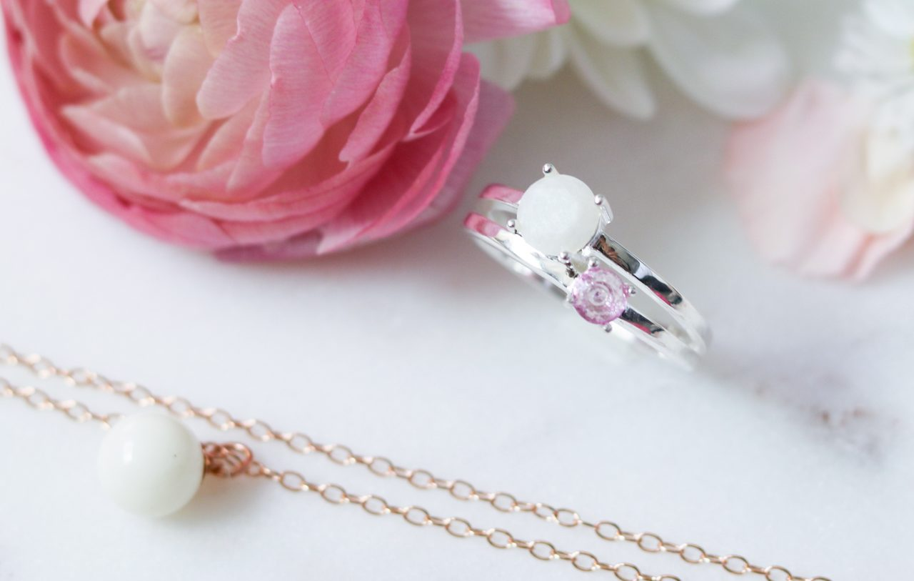 Bijoux Lait Maternel Breast Milk Jewelry La Joie En Rose
