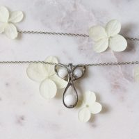 Collier Allaitement Infini Lait Maternel Breastfeeding Necklace Breast Milk Infinity