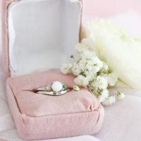 bague lait maternel familiale pierres de naissance breastmilk family ring birthstones