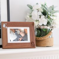Cadre Photo en bois Lait Maternel Breast Milk Photo Frame