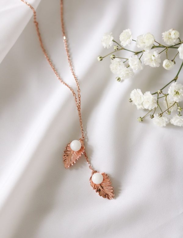 Collier Plumes Lait Maternel Allaitement BreastMilk Necklace Feathers