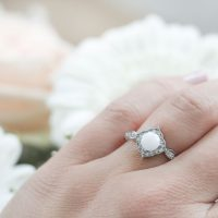 Bague Lait maternel Princesse Breast Milk Princess Ring